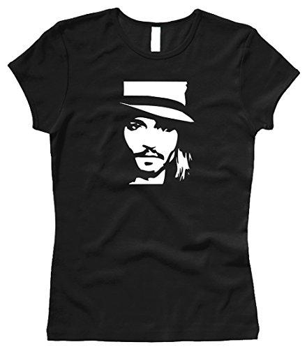 Bella / Russel Johnny Depp - Damenshirt/Girl - Gr. M
