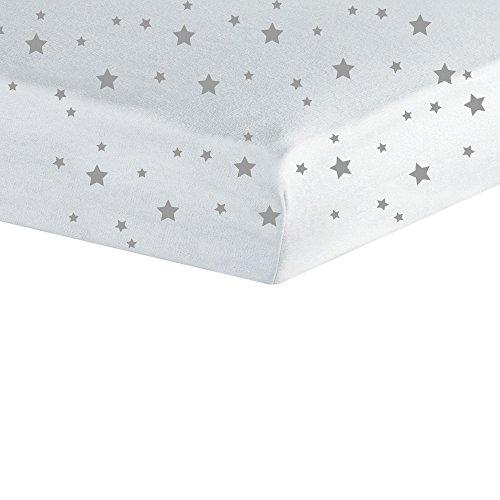 Trois Kilos Sept Spannbettlaken, Sterne, 70 x 140 cm