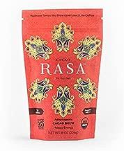 Cacao Rasa Coffee Alternative with Chaga + Reishi for All-Day Energy + Focus - Organic, Adaptogenic, Vegan, Keto, Low Caffeine, Whole30, 8 Ounce