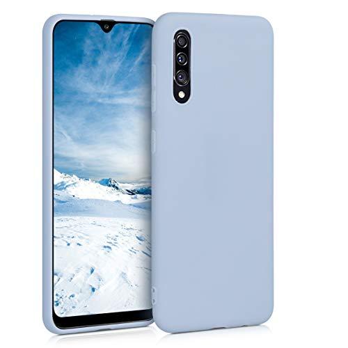 kwmobile Hülle kompatibel mit Samsung Galaxy A30s - Hülle Handyhülle - Handy Hülle in Hellblau matt