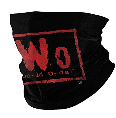Breathable Bandana Nwo New World Order Wwe Wrestling (1) Headband Festivals And Outdoors -one_color- Scarf Neck Gaiter Face bandanas Face Cover Face Sheild Made In USA