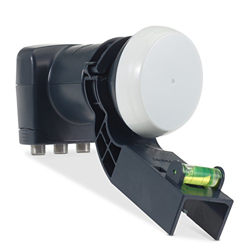 SSL Satellites Sky Quad LNB 4 Way for MK4 Dishes - Have Upto 4 Sky or Freesat Receivers Connected, Multi Room, PVR Upgrade