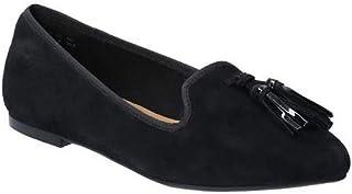 Hush Puppies Womens/Ladies Sadie Tassle Slip On Suede Shoe