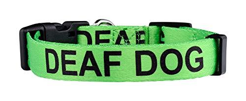 Native Pup Deaf Dog Collar| Hard of Hearing Warning| (Small)