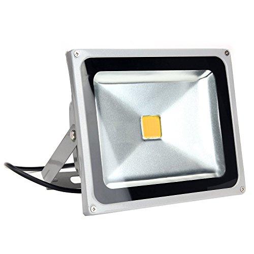 Electrolux monde Projecteur LED 10 W 20 W 30 W 40 W 50 W Blanc chaud spot projecteur mural Lumière Jardin Projecteur Spot LED extérieur étanche pour extérieur IP65 20W