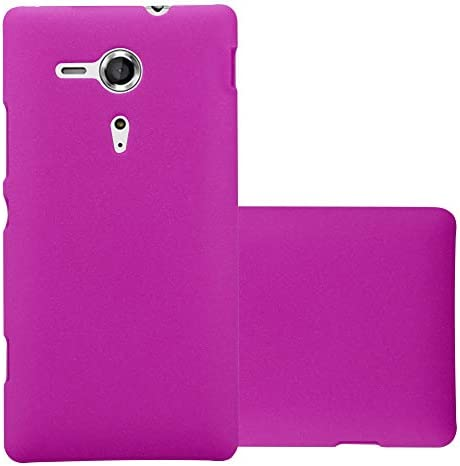 Cadorabo Case Compatible with Sony Xperia SP in Frosty Pink Shockproof and Scratch Resistent product image