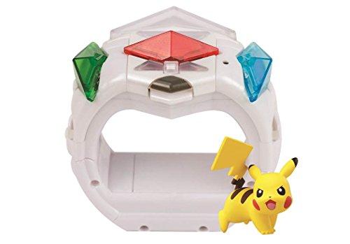 Pokemon T19202D – Anillo Z con Figura de Pikachu y Cristales en Z