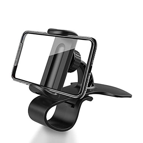 xingguang Soporte universal para teléfono móvil con GPS, soporte para teléfono móvil, soporte para teléfono móvil, soporte para teléfono móvil, soporte para salpicadero de coche, color naranja