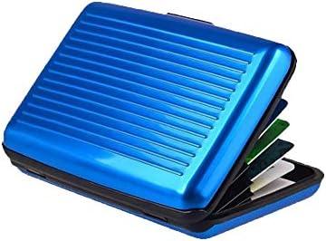 Aluminum RFID Blocking Wallet Slim Hard Metal CreditCard Holder Hard Case Aluminum Business product image