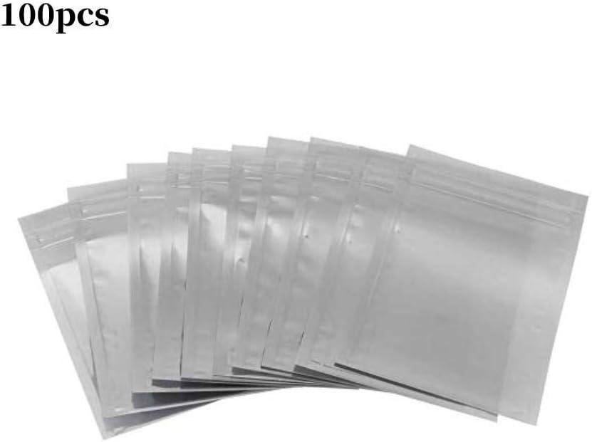 8 x 12 cm Componentes de Dispositivo Placa Madre Tarjeta de V/ídeo 100 bolsas antiest/áticas resellables para SSD HDD Electr/ónico