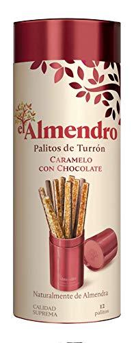 El Almendro Palitos De Turrón Duro De Chocolate, Caramelo Y Almendra - 126 Gr