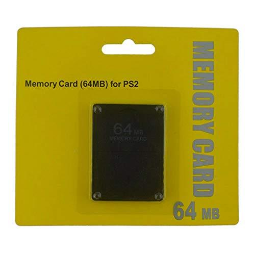 RUITROLIKER Modulo da 64 MB per memory card per PlayStation 2 PS2 nero