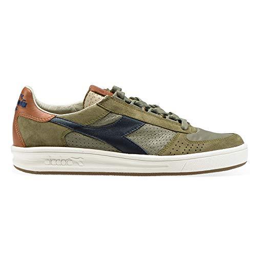 Diadora Heritage B Elite ITA 2 - Zapatos de hombre de ante verde y