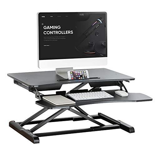 Tables FEI - Bureau Debout Standing Desk Converter - Rehausseur de Bureau à Hauteur réglable - Poste de Travail Assis-Debout - 32\