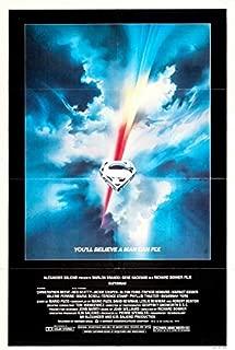 SUPERMAN (1978) Original Authentic Movie Poster 27x40 - S/S - ROLLED- Marlon Brando - Gene Hackman - Christopher Reeve - Ned Beatty