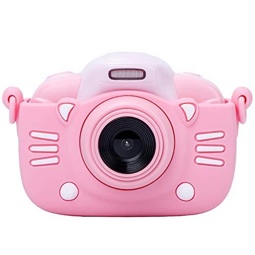 LHNEREGLHNEREG Cámara De Video para Niños Portátil 1080P 4K HD, Cámara Digital De Carga USB De 3.0'con Tarjeta TF De 32GB, Regalos para Niños Y Niñas