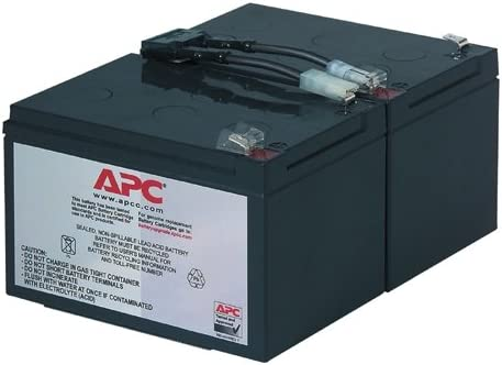 APC BY SCHNEIDER ELECTRIC UPS REPLACEMENT BATTERY RBC6