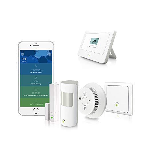 innogy SmartHome Paket Sicherheit inklusive Bewegungsmelder und Rauchmelder