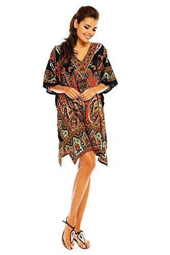 Looking Glam Maxi Kimono Túnica Caftán Grande para Damas