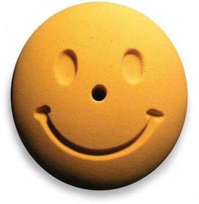 Entre Prises Klettergriff Smiley, Farbe:gelb