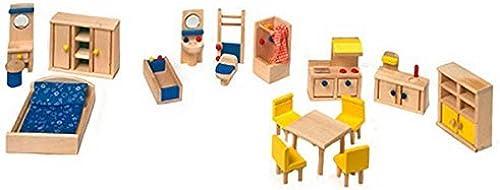 Garantía 100% de ajuste Legler Doll Furniture with Kitchen From 3 Years Years Years by Legler  ordenar ahora