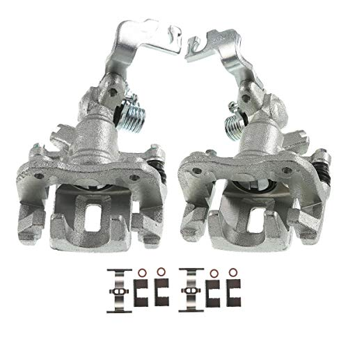 A-Premium Brake Caliper Assembly with Bracket Compatible with Honda Accord 1998-2002 Rear Side 2-PC Set
