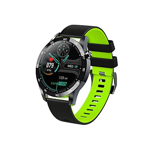 SHANGH Pulsera Inteligente F22L Presión Arterial Oxígeno Monitor de Ritmo Cardíaco IP67 Reloj Inteligente Resistente Al Agua Rastreador de Actividad Recordatorio de Llamadas Podómetro