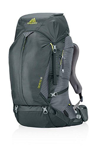 Gregory Mountain Products Deva 70 Goal Zero Backpack, Volt Gray, X-Small