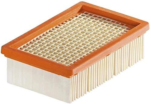 YBINGA Filtro apto para aspiradora KARCHER MV4 MV5 MV6 WD4 WD5 WD6 piezas de repuesto para aspiradoras húmedas y secas, filtros #2.863-005.0, bolsa de polvo (color: 1 unidad)