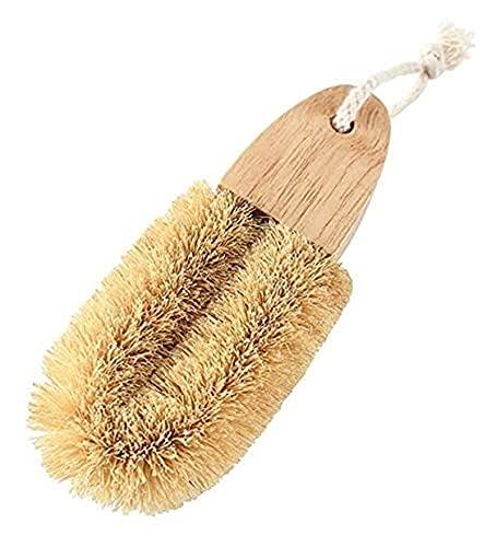JJZXPJ Cleaner Brush Shuaz Brush, U-Shaped Wide Head Short Handle Pot Brush Kitchen Cleaning Decontamination Brush Kitchen Cleaning Tool