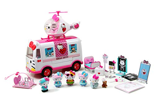 Dickie - Hello Kitty-Playset de socorro, 253246001, multicolor , color/modelo surtido