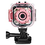 Prograce Children Kids Camera Waterproof Digital Video HD Action Camera Sports Camera Camcorder