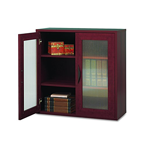 Safco Products 9440CY Apres modulares Bücherregal 2 Türen Mahagoni