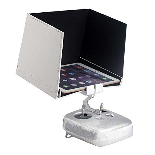Rcmodelpart 9.7Inch Sun Capucha Parasol para iPad Air y iPad DJI Inspire 1Phantom 3Pro Advanced FPV