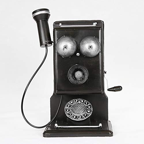 EODUDO-Home Improvement Adorno de teléfono Antiguo para decoración del hogar, Estilo Retro, Estilo Vintage
