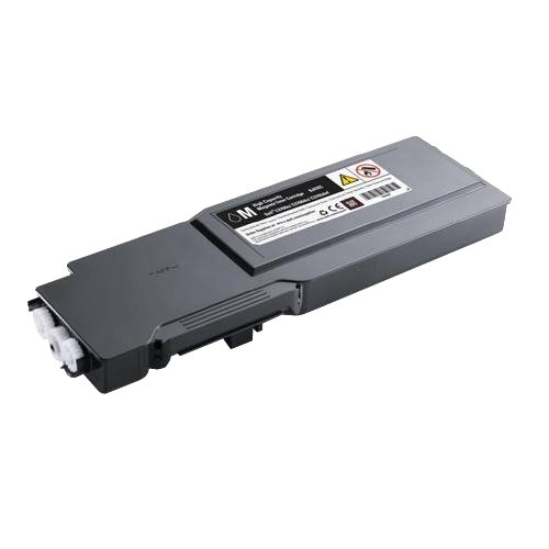GENUINE Original DELL C3760 C3765 C3760n C3760dn C3765dnf MAGENTA Toner Cartridge , Dell P/N : 2GYKF , MN6W2 , 593-11113 , 3000 Pages Capacity