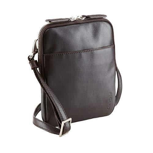Picard Crossbody Bag 1 front pocket Buddy cuir 19 x 16 x 2 cm (H/B/T) Homme sacs à bandoulière (5759)