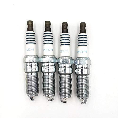 4Pcs / Lot ZüNDKERZEN/Fit for Ford MOTORCRAFT SP530 SP530 AYFS32YR AYFS-32Y-R (Color...
