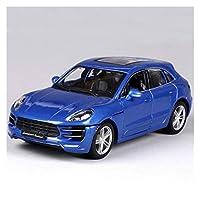 モデルカー 1:24に適用するGT Model Diecast Metal CarHigh Simulation Pull Back Alloy Car Castings Collection Model to-ys ミニカー (Color : 1)
