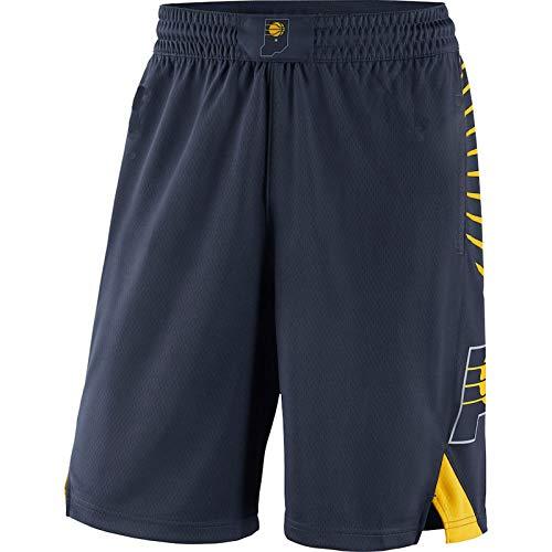 FTING Mens jersey shorts Indiana Navy,Pacers 2019/20 Icon Edition Swingman baloncesto cortos para hombres