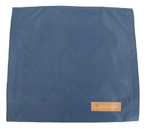 背もたれ式防災頭巾用カバー トップカバーブルー 約35×40cm 90018