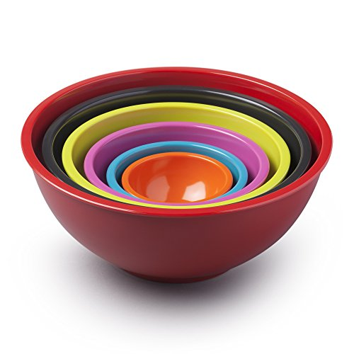 Zeal G272SET Nesting Bowls set, bright mix