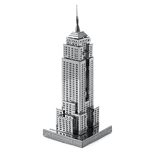 Metal Earth - 5061010 - Maquette 3D - Architecture - Empire State Building - 9,91 x 2,97 x 3,17 cm - 1 pièce