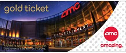 AMC Gold Experience™ Movie Tickets 2 Pack