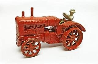 Design Toscano Allis Chalmers Replica Cast Iron Farm Toy Tractor, Multicolored