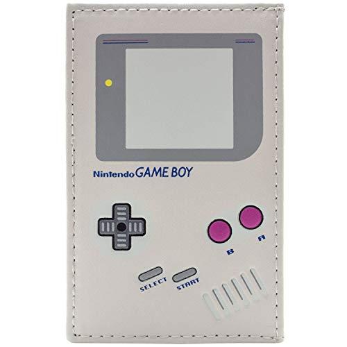 Gameboy Handheld-Konsole Grau Portemonnaie Geldbörse