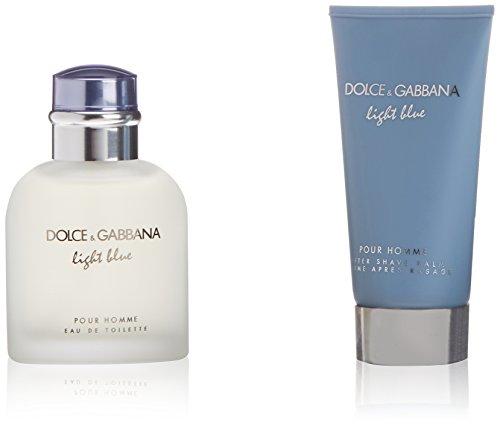 D&G Light Blue pour Homme Set - 1x Eau de Toilette 75ml + 1x After Shave Balm 75ml