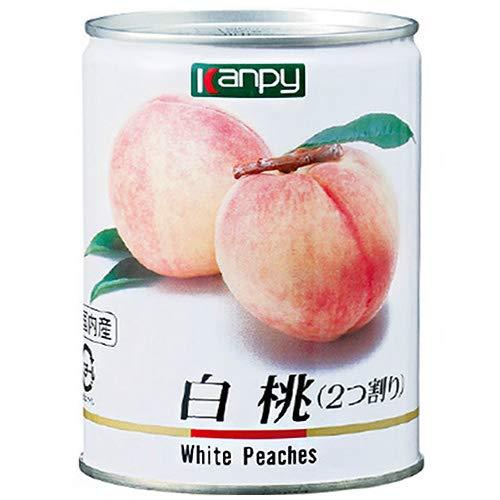 カンピー 国産白桃(JAS) 425g缶×24個入