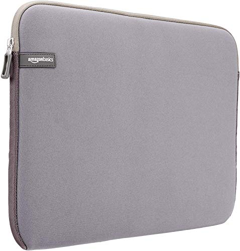"Amazon Basics NC1303154H - Funda para ordenadores portátiles (15.6""), color gris"