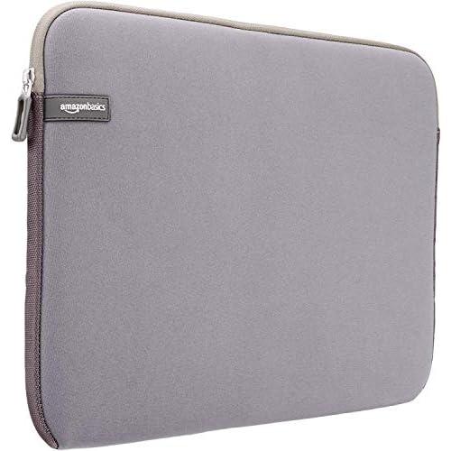 AmazonBasics, custodia protettiva per laptop, per una dimensione dello schermo di 15-15.6 pollici, grigia